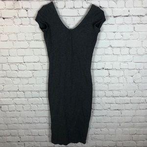 💥 5/$25 Dynamite Jersey Midi Dress Grey Size XS